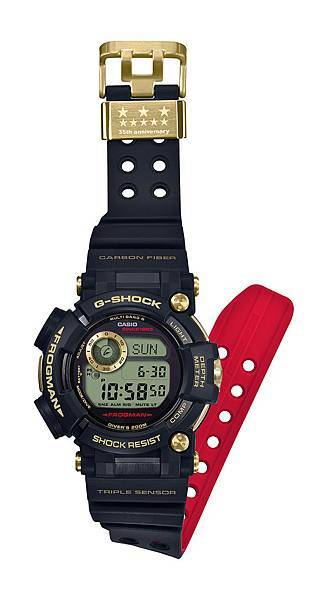 GWF-D1035B-1建議售價NT$36,000_錶帶展開圖