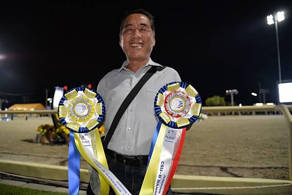 馬術協會許安成理事長上任後首度帶領中華台北隊參與國際賽事