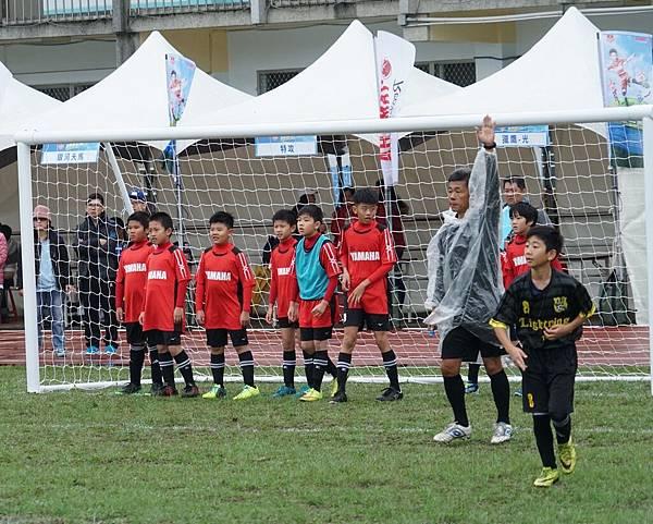 YAMAHA踢球趣隊在清大南大校區進行預賽