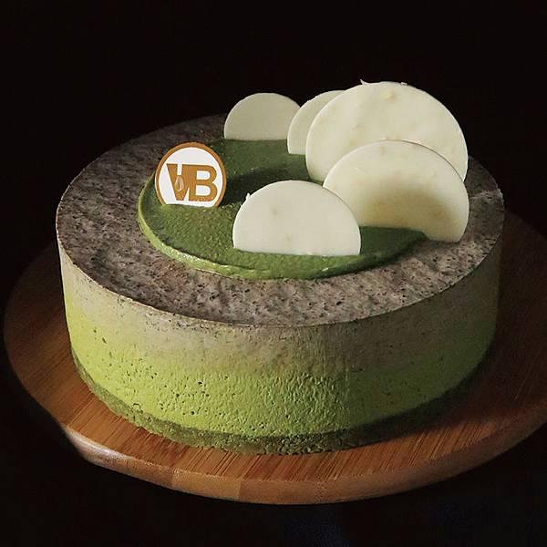【新聞照片13】濃抹茶芝麻生巧克力慕斯蛋糕