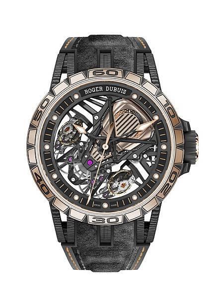 Excalibur AventadorS碳纖維雙擒縱腕錶DBEX0654 NTD6,800,000_1