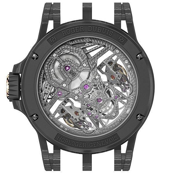 Excalibur AventadorS碳纖維雙擒縱腕錶DBEX0654 NTD6,800,000_Back
