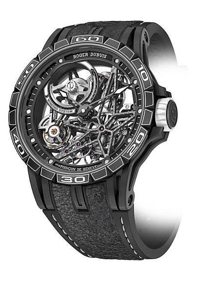 Excalibur Spider Pirelli鈦合金鏤空自動上鍊腕錶DBEX0705 NTD2,200,000_1