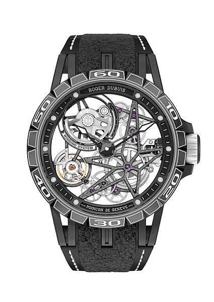 Excalibur Spider Pirelli鈦合金鏤空自動上鍊腕錶DBEX0705 NTD2,200,000_3