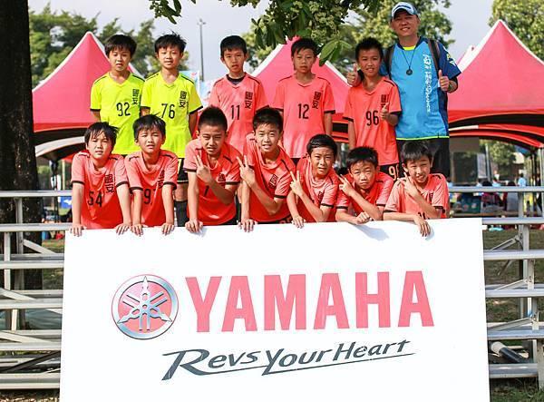 國安國小再度闖進YAMAHA CUP決賽