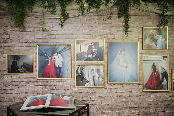 婚紗照牆(伊林娛樂提供)(1)