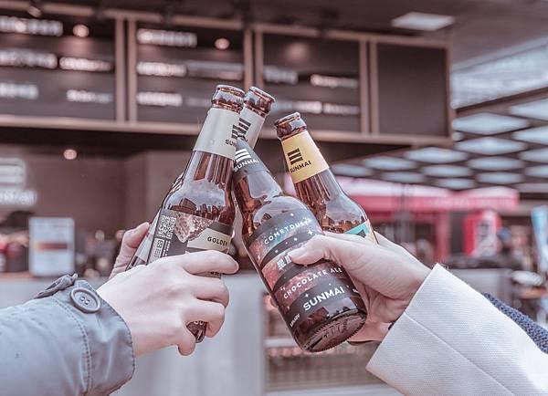 圖1.SUNMAI CUBE自1215至0131推出LAST ORDER優惠活動,趁現在感受精釀啤酒街頭品飲體驗,與朋友盡情享受愜意小酌時光。
