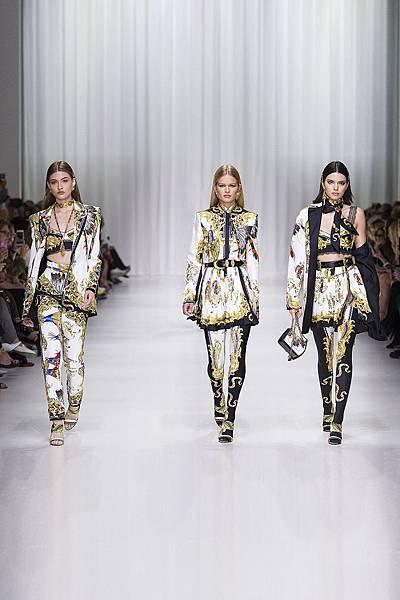 Versace 2018 春夏女裝系列 - 美洲原住民_1