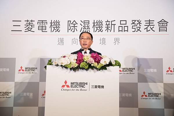 台灣三菱電機董事長兼總經理 稲葉元和