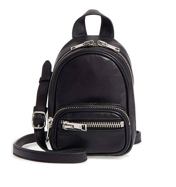 30alexander wang銠金裝飾肩背mini backpack NT12800