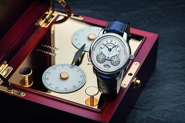 118537 萬寶龍Star Legacy系列Nicolas Rieussec計時腕錶,7,450歐元(約NT$268,200)_情境圖(2)