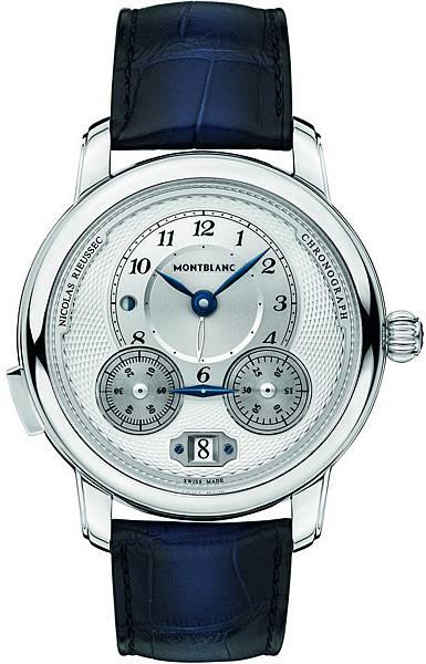 118537 萬寶龍Star Legacy系列Nicolas Rieussec計時腕錶,7,450歐元(約NT$268,200)