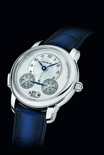 118537 萬寶龍Star Legacy系列Nicolas Rieussec計時腕錶,7,450歐元(約NT$268,200)_情境圖(1)