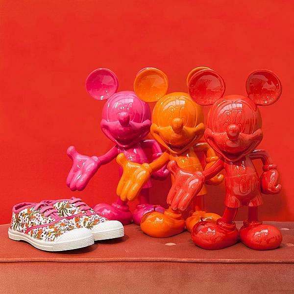 BENSIMON X Disney聯名鞋款-1