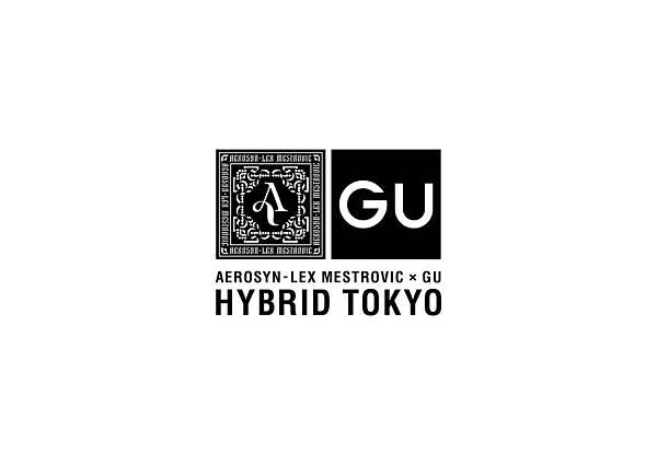 03.「安那ANNA」「J.Sheon」穿著GU聯名系列「HYBRID TOKYO」展現街頭態度。