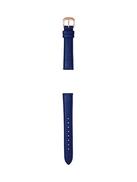 SHE-3058LTD-7A可替換藍色真皮錶帶