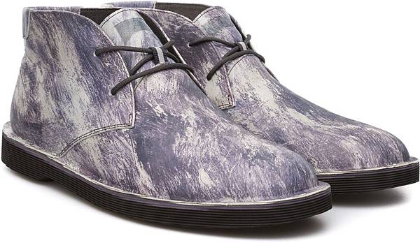 Camper TWS系列大理石紋休閒鞋,NT$3,500。(男款)