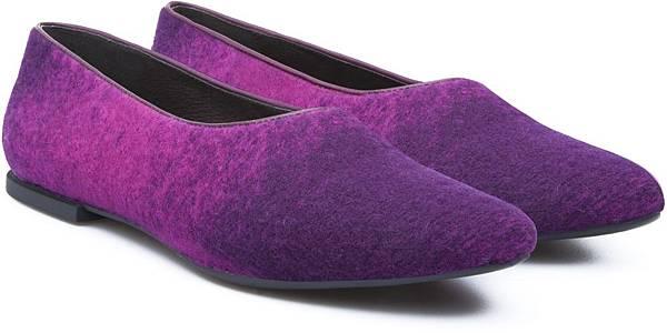 Camper Isadora系列紫色漸層包鞋,NT$2,000。(女款)