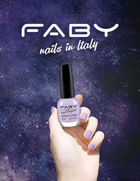 FABY紫外光系指彩,用Ultra Violet紫外光指彩妝點你的獨創風尚