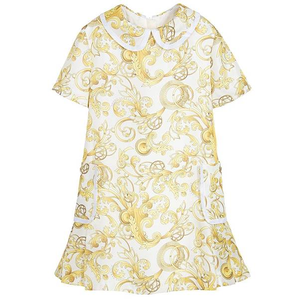 YOUNG VERSACE_巴洛克式連身洋裝$17980