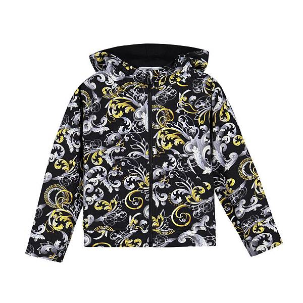 YOUNG VERSACE_巴洛克式連帽外套$10980
