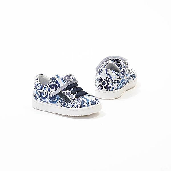 Dolce_Gabbana_印花帆布兒童學布鞋$10500