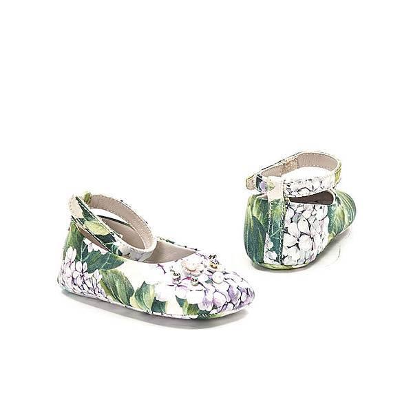 Dolce_Gabbana_花繪珠飾學步鞋$10500