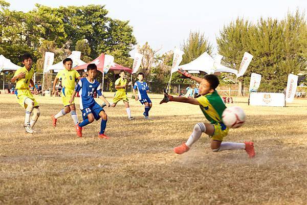 [YAMAHA CUP]瑞興國小(藍)以優異表現擊敗桂林國小第三度闖進總冠軍賽