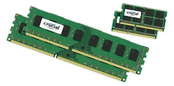 升級 Crucial® 記憶體 立即實現更快的反應速度和無縫多工處理能力