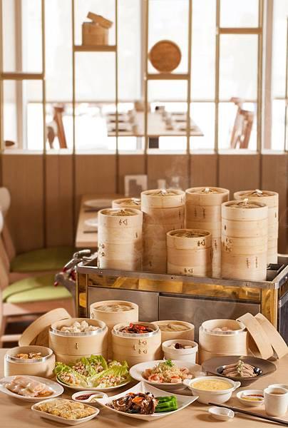 【新聞稿】華漾港式飲茶 美味進駐華泰名品城_菜色及推車_直式