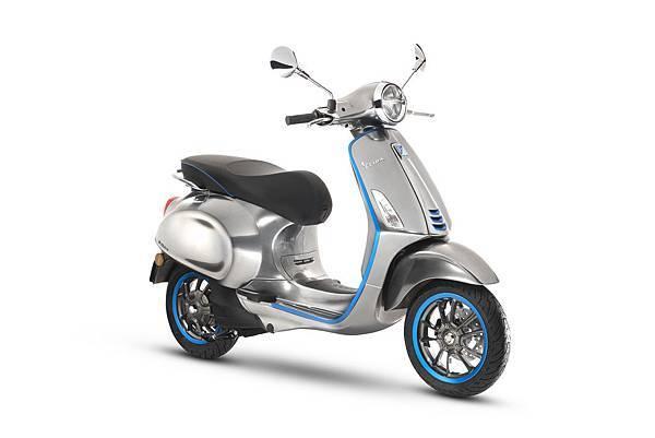 【Vespa提供】Vespa首款概念電動車「Elettrica」