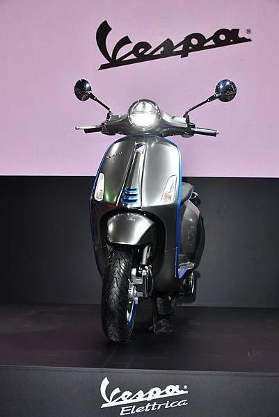 Vespa 電動概念車 Elettrica