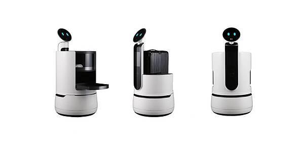 LG Concept Robots White Background