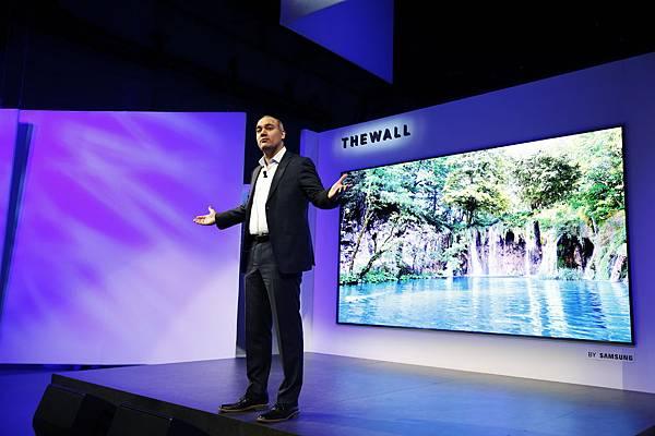 美國三星消費電子產品高級副總裁Dave Das1