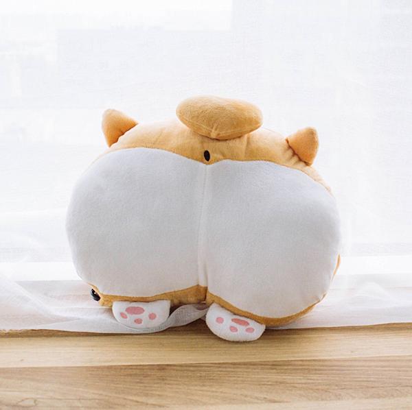 【新聞附件2】柯基屁屁暖手枕