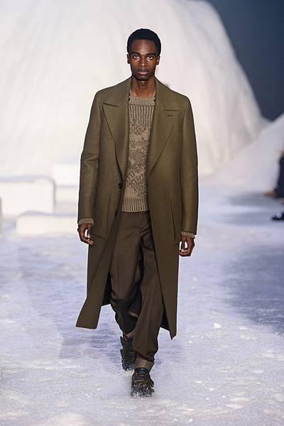 05. Ermenegildo Zegna Couture 2018冬季系列時裝秀 Look 05