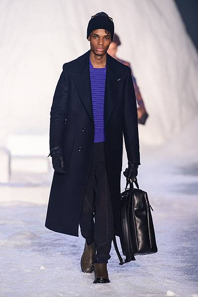 14. Ermenegildo Zegna Couture 2018冬季系列時裝秀 Look 30
