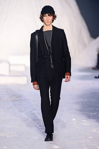 18. Ermenegildo Zegna Couture 2018冬季系列時裝秀 Look 45