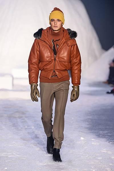 11. Ermenegildo Zegna Couture 2018冬季系列時裝秀 Look 23