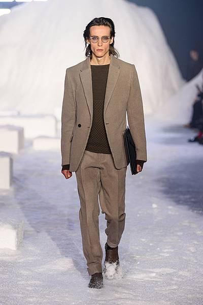 04. Ermenegildo Zegna Couture 2018冬季系列時裝秀 Look 04