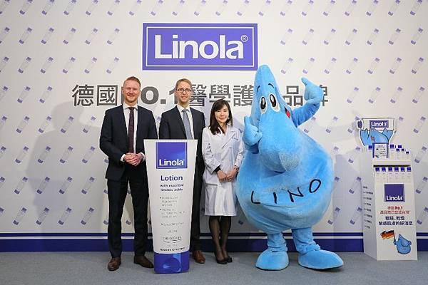 德國藥妝店銷售NO.1醫學護膚品牌Linola 在台上市