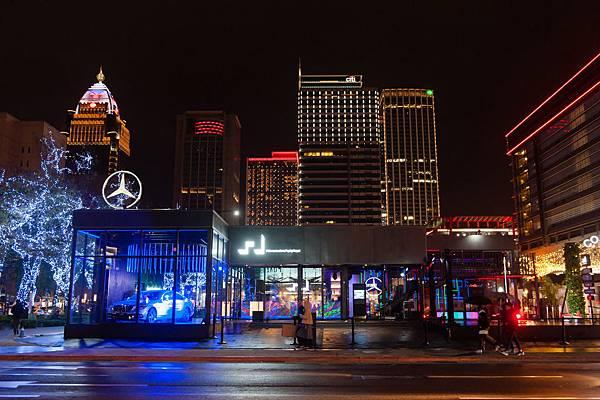 #MercedesBenzPopUpTaipei最終變身螢光party 完美謝幕