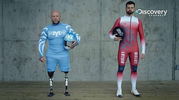 米契與冰橇世界冠軍馬汀杜克