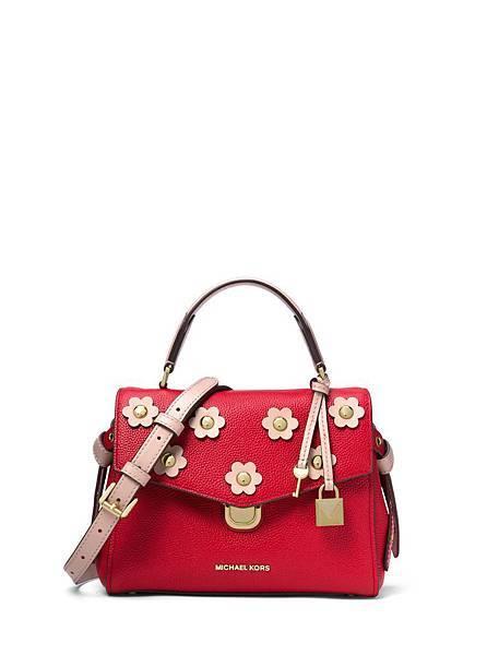 BRISTOL 紅色立體花卉提包  NT17800