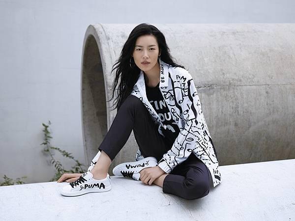 PUMA 大中華區品牌大使劉雯詮釋獨一無二的俏皮街頭穿搭