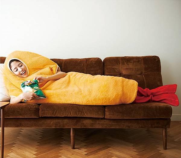 【新聞照片3】炸蝦睡袋