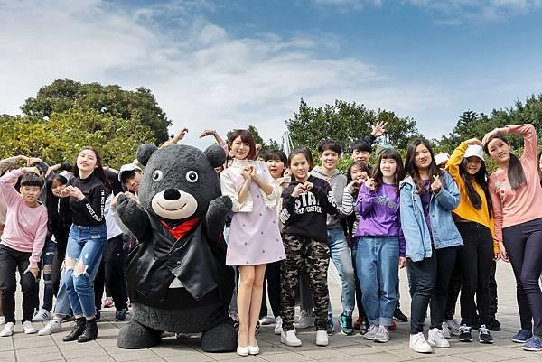 熊讚與林明禎邀請大家一起來2018臺北燈節打卡放閃
