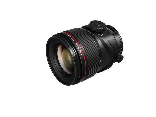 圖二、Canon_TS-E 50mm f2.8L Macro 產品圖 (側面)