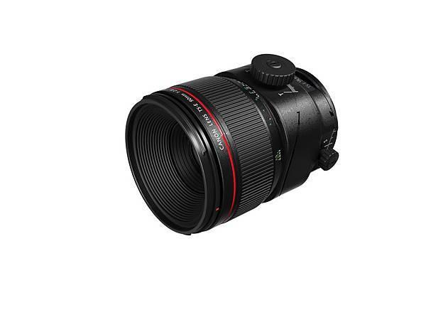 圖四、Canon_TS-E 90mm f2.8L Macro 產品圖 (側面)