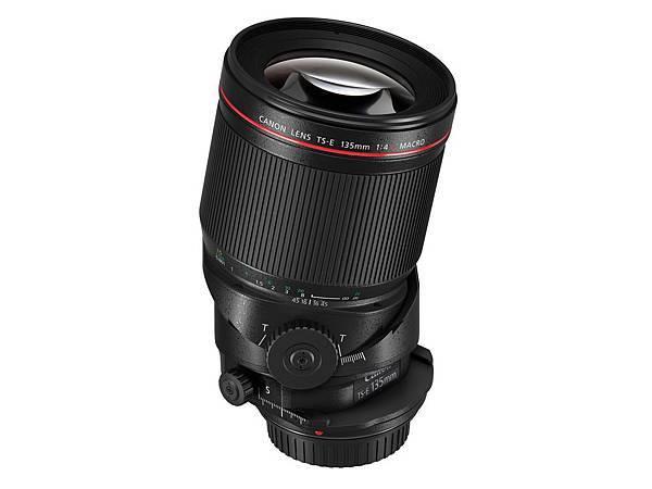 圖五、Canon_TS-E 135mm f4L Macro 產品圖 (正面)
